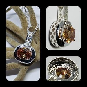 Jewelry - Lindenwold Fine Jewelry Yellow Pendant Necklace